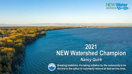 2021 NEW Watershed Champion - Nancy Quirk