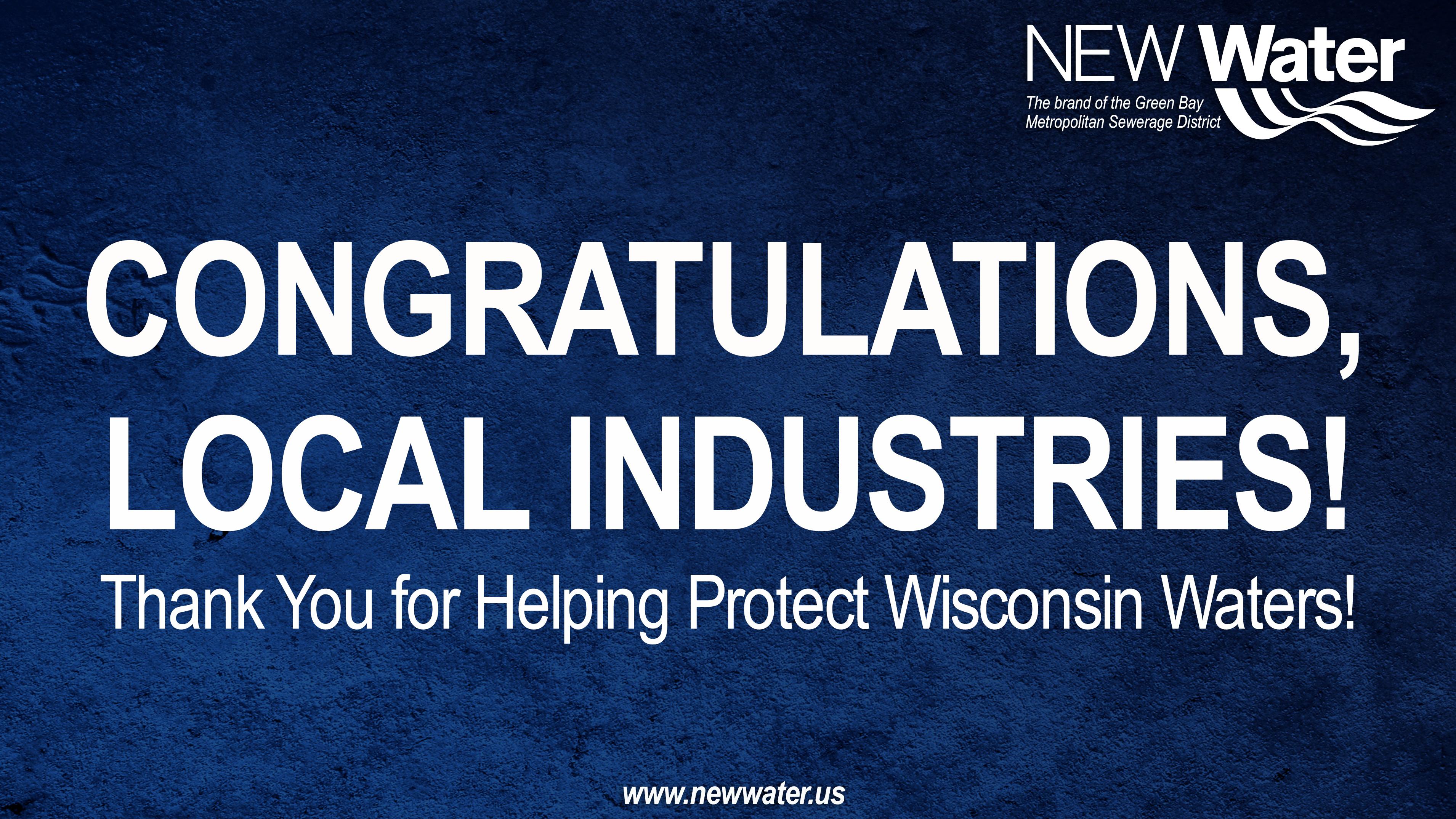 Congratulations, Local Industries
