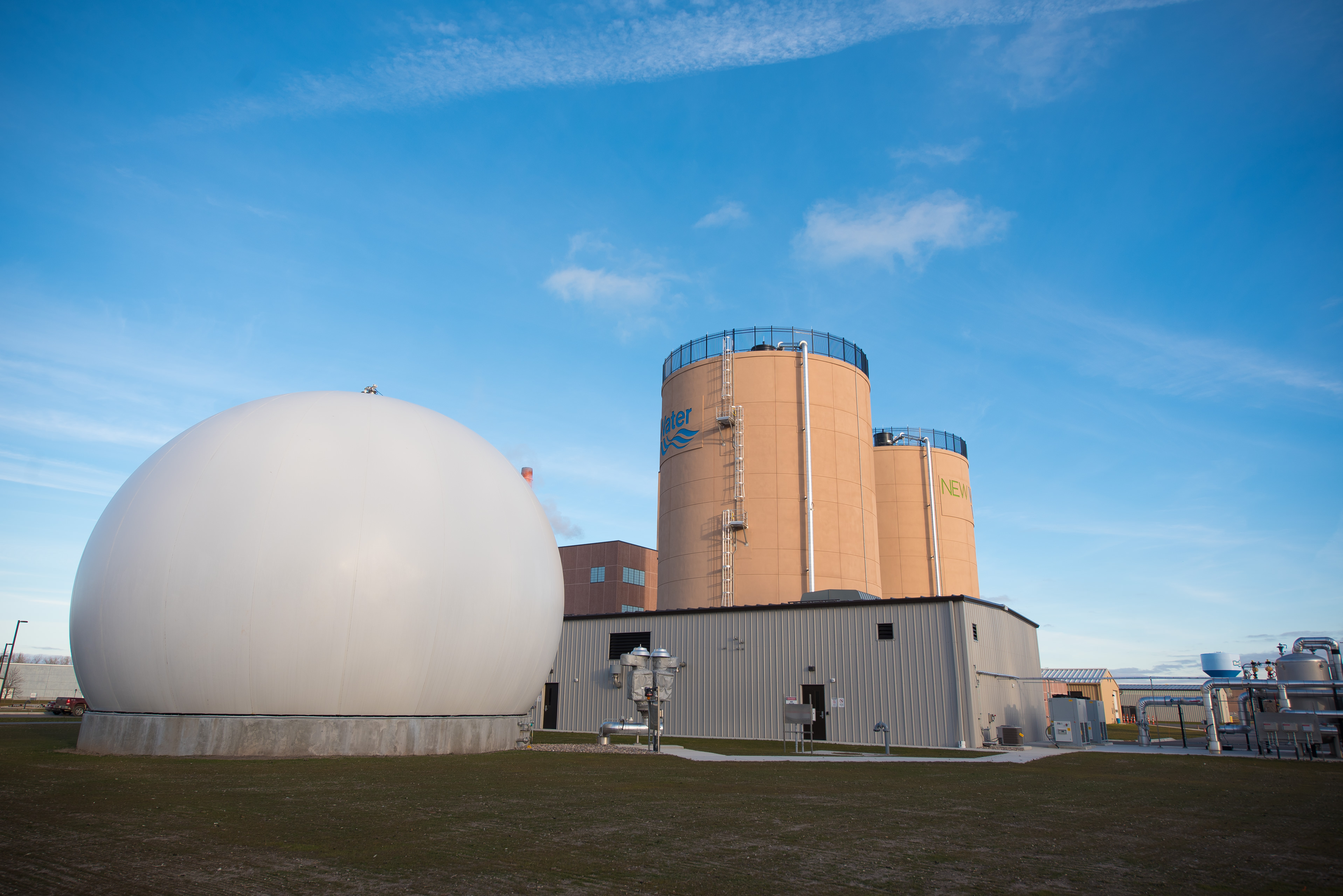 NEW Water's Solids Facility High-Strength Waste