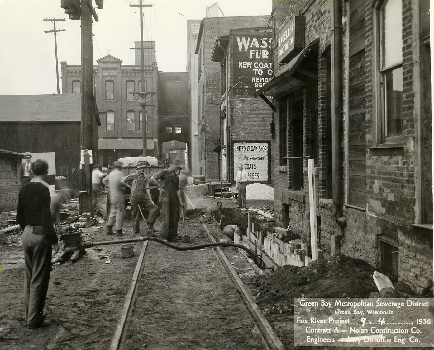 Cherry Street in 1931